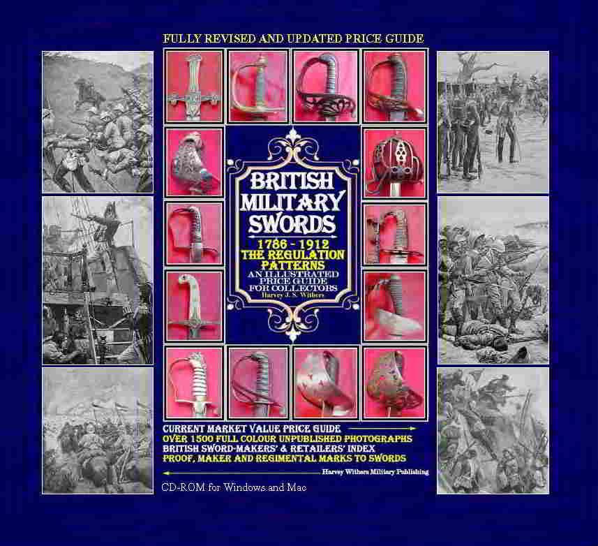 British military swords 1786 1912 a new cd rom price for Harvey windows price list